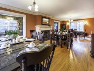 dining room as a meeting space or small events venue