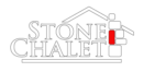 logo for stone chalet bed and breakfast inn and event center in ann arbor michigan