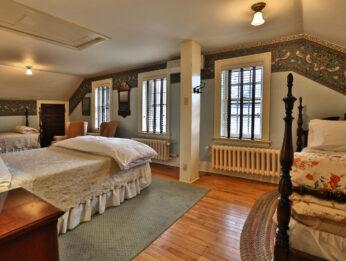 Cuckoos nest room has three beds