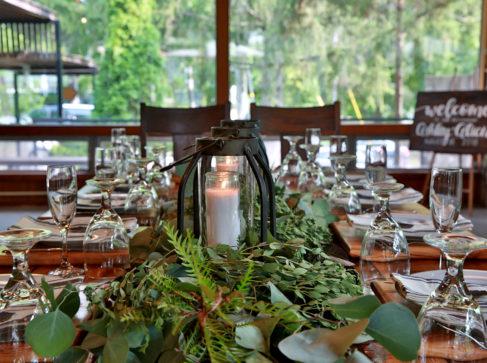 dinner in fellowship hall